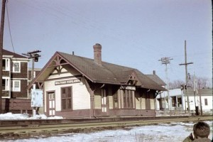 Waltham Highlands Train Depot